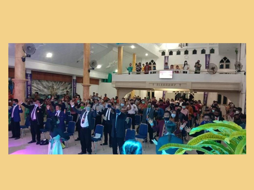 Ketum di Sulawesi Selatan 6-8 Okt 2020