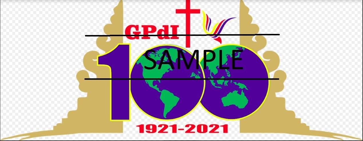 Logo Resmi GPdI Satu Abad