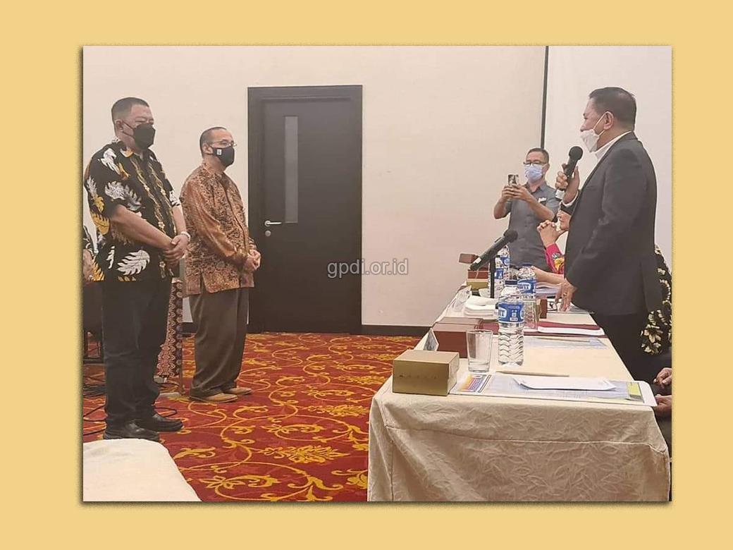 Pelantikan 4 anggota MP baru di Pleno MP 27-29 Mei 2021