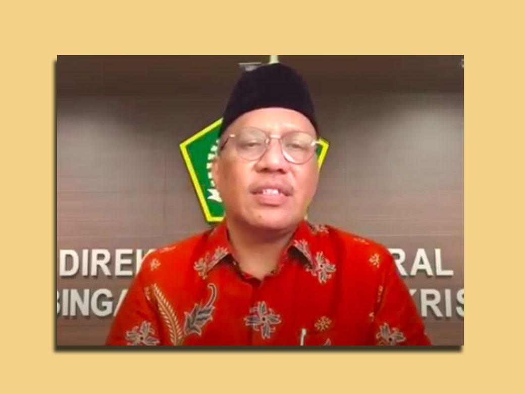 Sambutan Lengkap Dirjen Bimas Kristen Prof. Dr. Thomas Pentury MSi