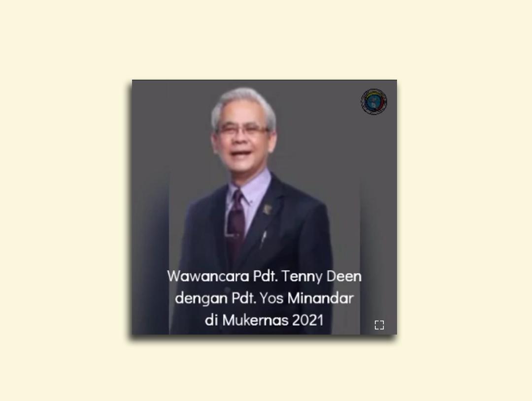 Kesan Pdt. Yos Minandar Di MUKERNAS 2021