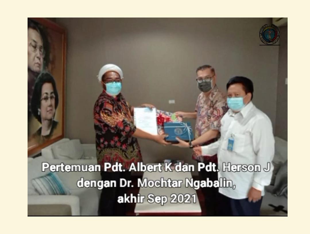 Pertemuan Dengan Dr. Mochtar Ngabalin Akhir Sep 2021