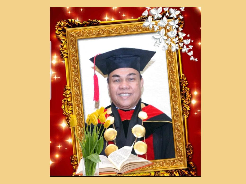 RIP  Pdt. Dr. Rudy F. Makal MA, MTh  Tgl 2 Okt 2020